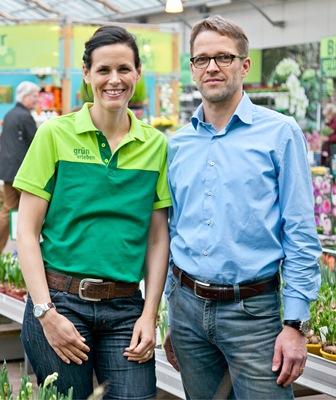 "Ehepaar Breuer im ""Pflanzen Breuer""-Gartencenter (© Pflanzen Breuer e.K.)"