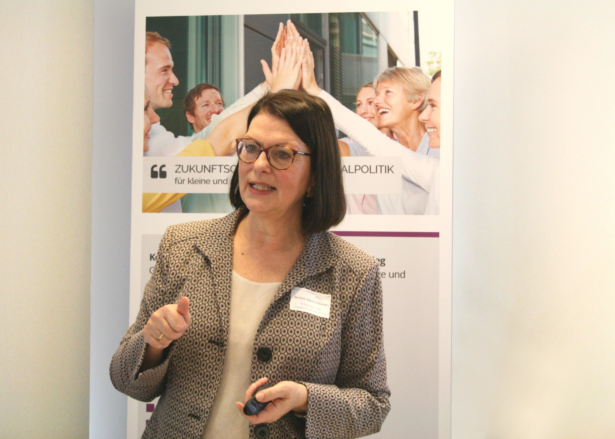 Bettina Jäkel-Schmidt, Expertin für Personal- und Organisationsentwicklung.