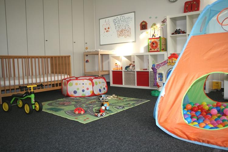 Eltern-Kind-Büro bei tarent solutions.