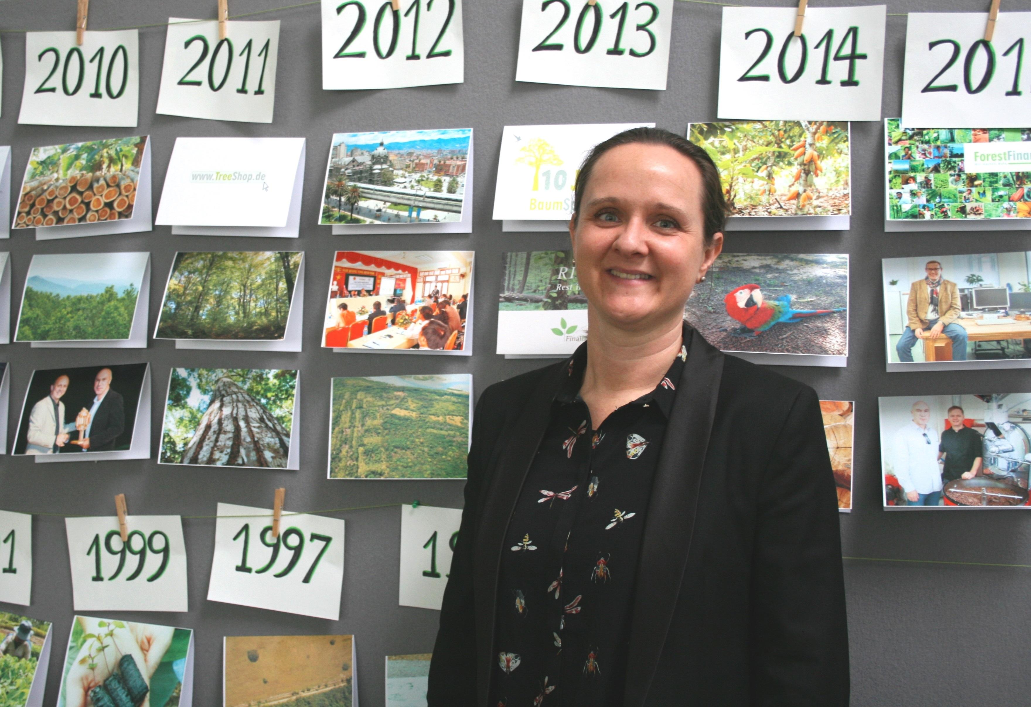 Forest Finance-Geschäftsführerin Christiane Pindur.