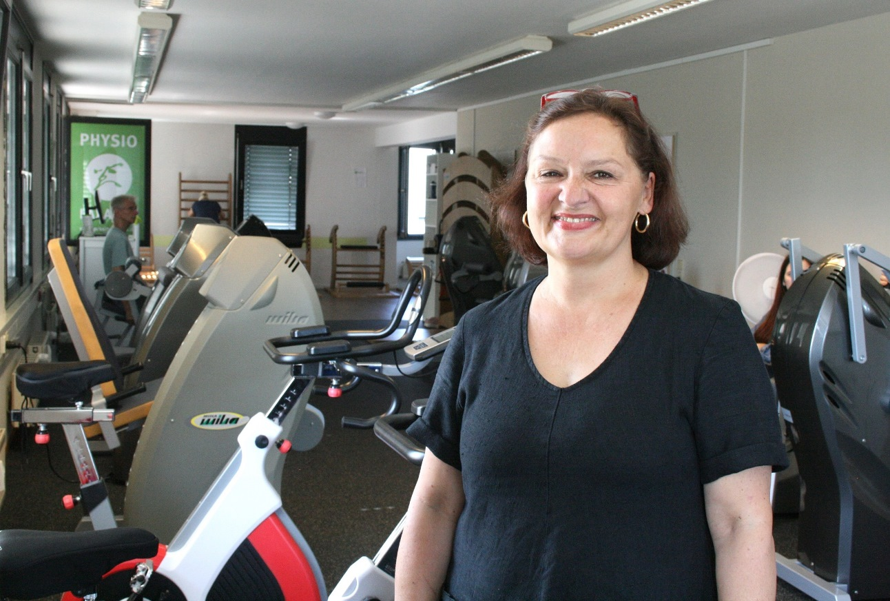 Christiane Kroschel, Personalreferentin von Physiotherapie Andrea Lazarev.