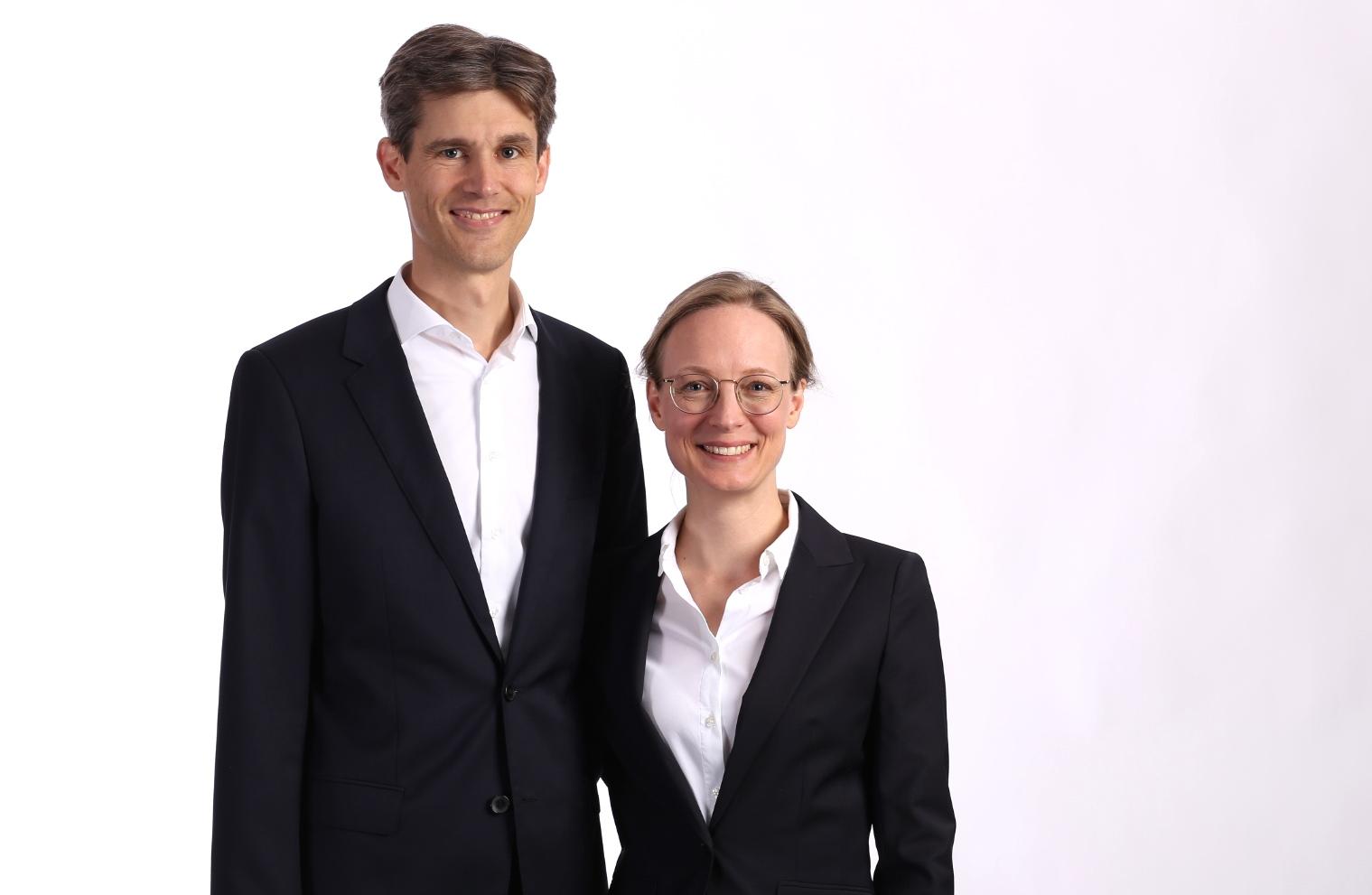 Marketing-Leiterin Dr. Svenja Hansen und Geschäftsleiter Holger Hansen.